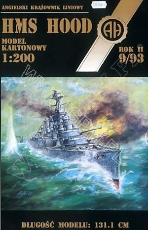 Halinski 1:200 HMS Hood