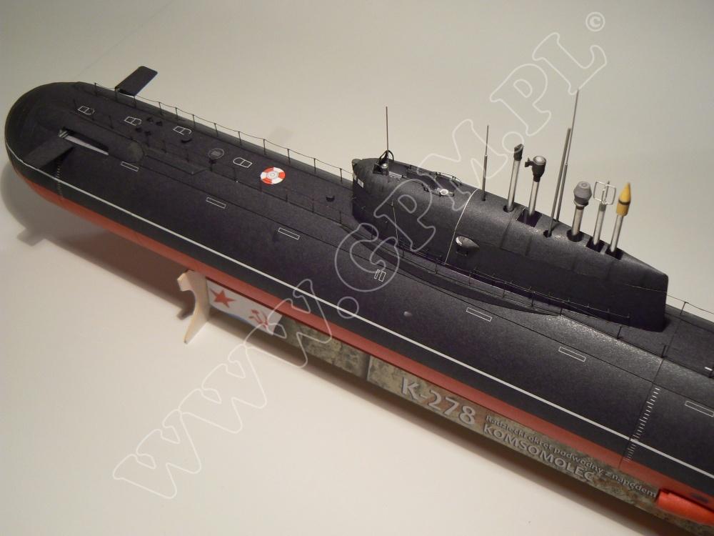 K-278 KOMSOMOLEC Class 685 PLAVNIK