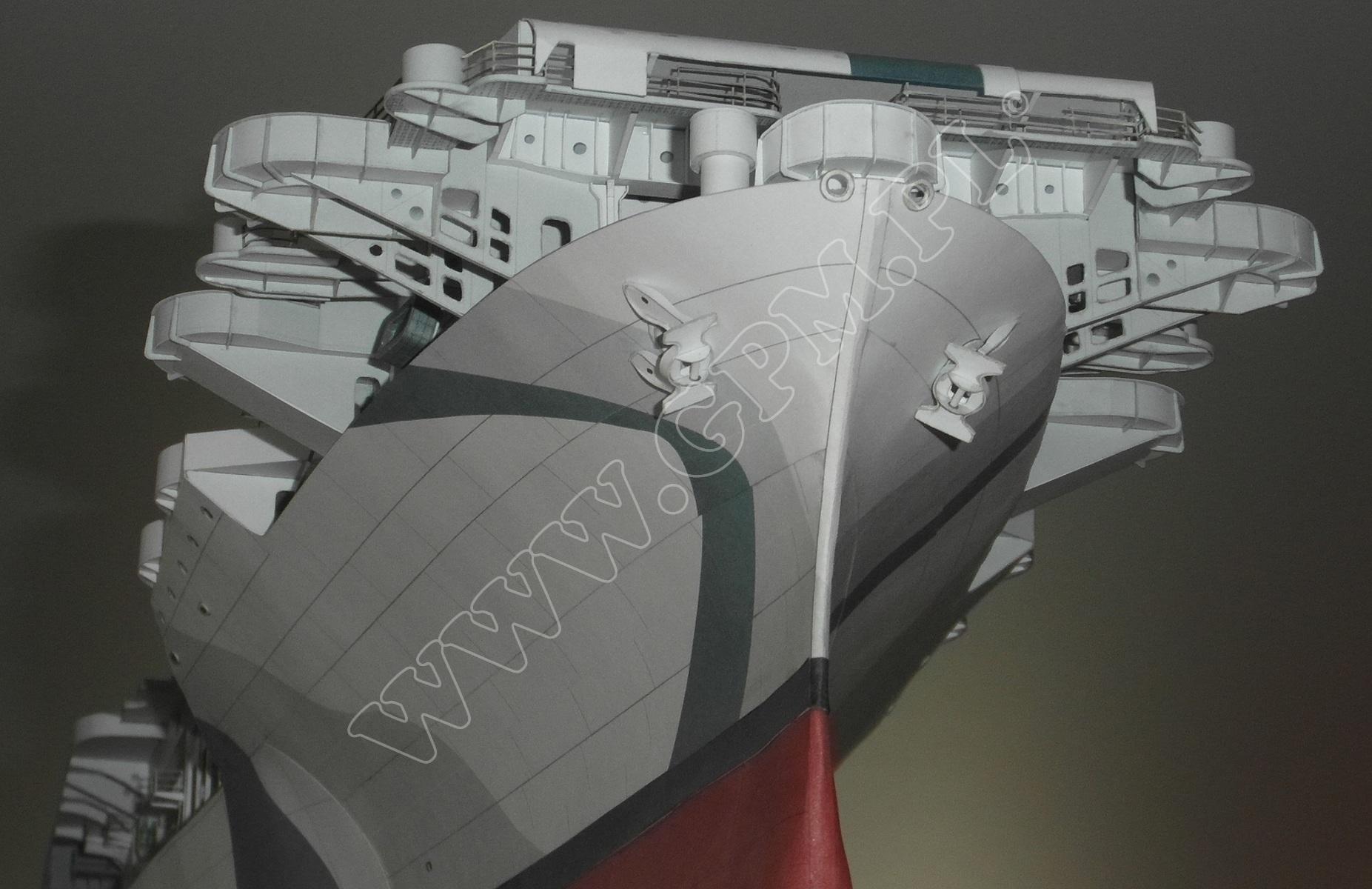 uss enterprise cv 200   gpm 544  du u017cy komplet  model  wr u0119gi  uzbrojenie i detale wycinane
