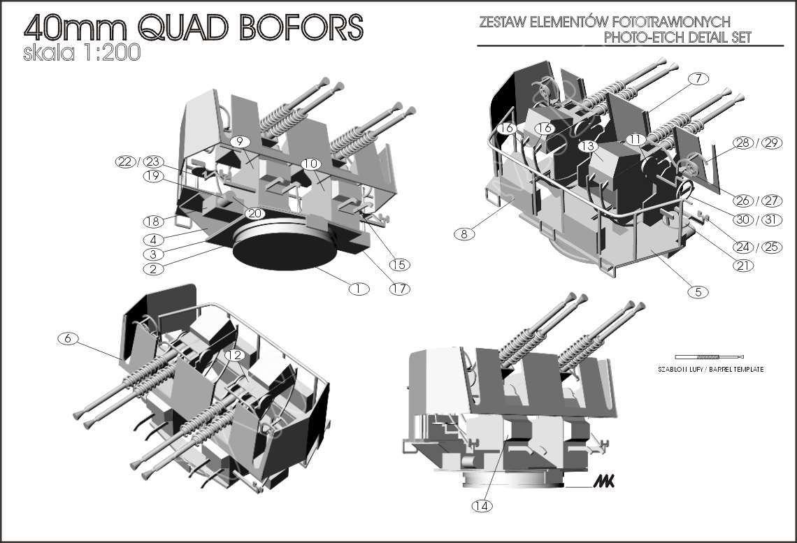 4x40mm bofors 1  200