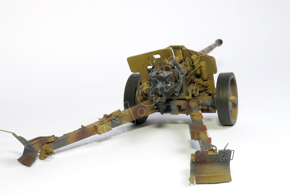 Pak 43 41 88 mm sheunentor set model and laserset